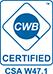 Certification CSA W47.1